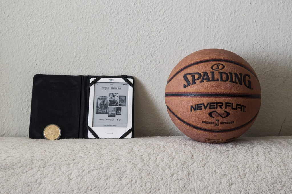 Zoltan choosed 3 objects : An E-book symbolizing his passion for books. A medal from a museum that means a lot to him. And a basket ball because he plays basket ball for a local team