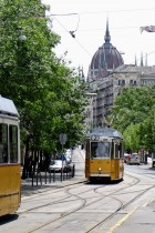 Zoltan's favorite spot is the tramway line N°2 that goes through the historical district of Budapest
