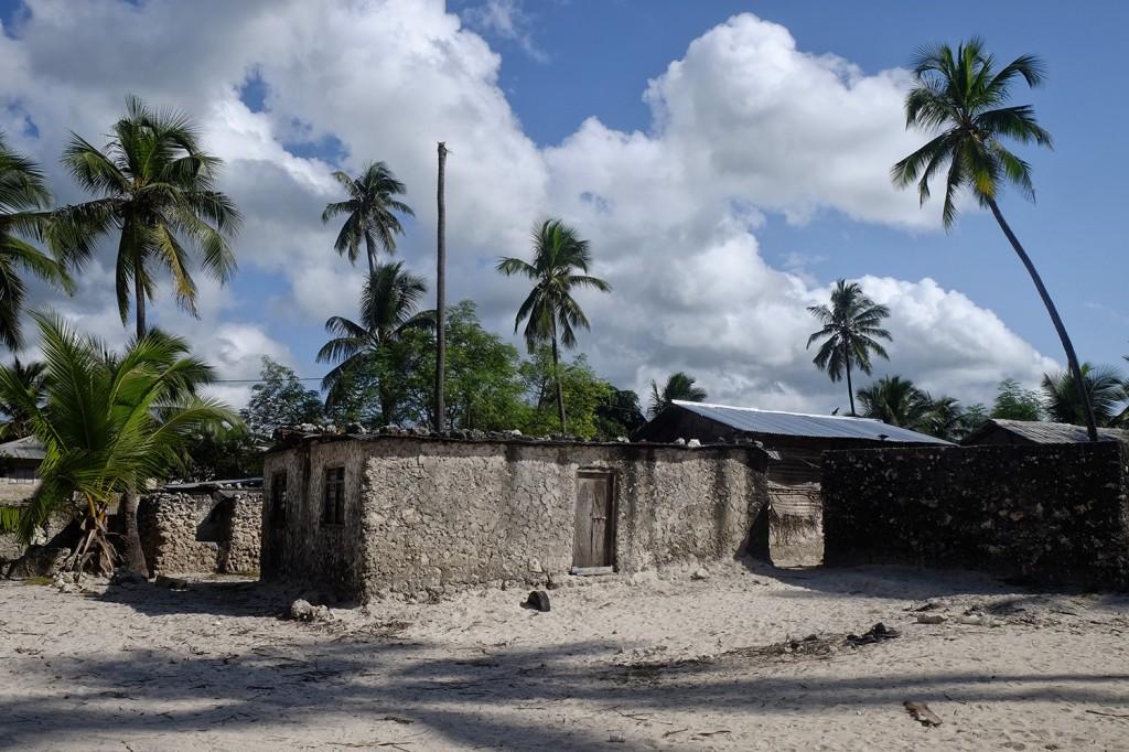 Matemwe Kigomane, Mmadi's village located in North East Zanzibar island.