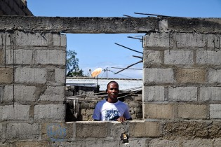 Faruk lives in a small house, currently being renovated, in the South part of the Mozambique Island.
