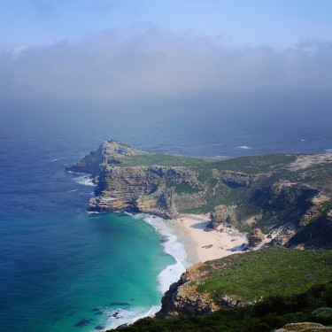 Day 61– South Africa – Cape Town – The Cape of Good Hope seeing from the top of Cape Point.