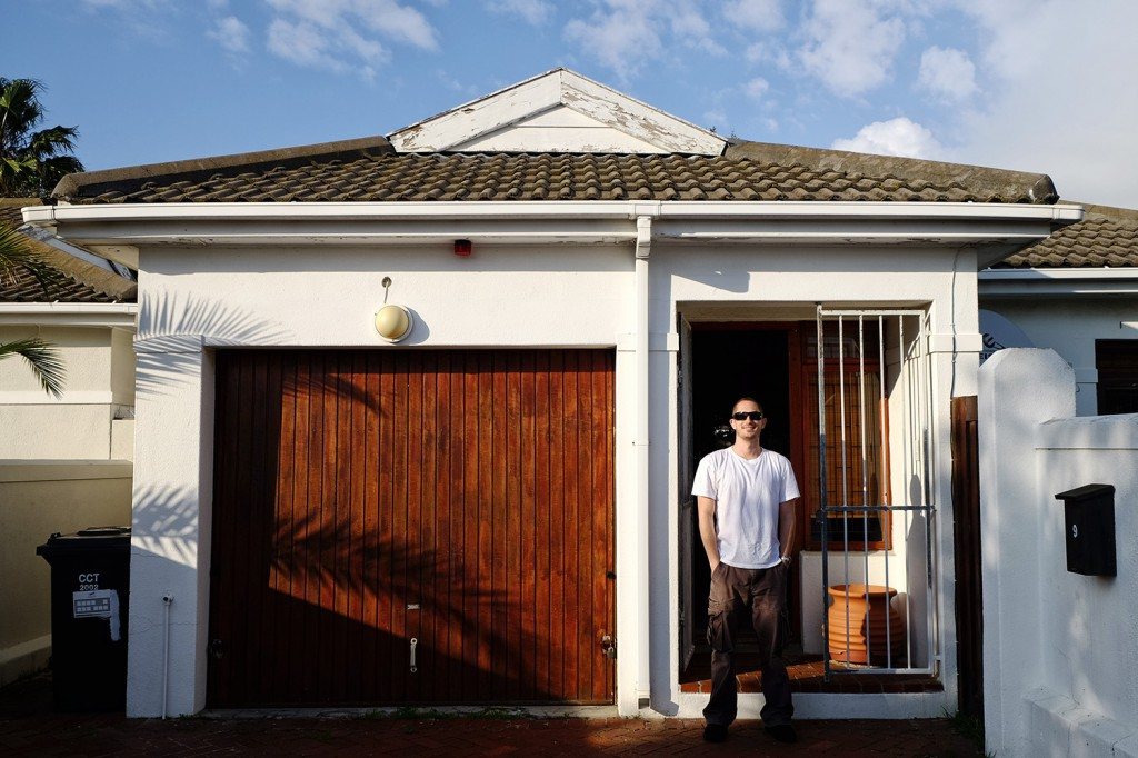 Kevin and her wife live in a small house in the neighborhood of Pinelands in Cape town.