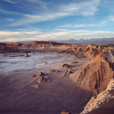 Day 76 - Chile - San Pedro de Atacama - A bike day trip through Valle de la Muerte, to reach, at the end of the day, the amazing and lunar landscape of Valle de la Luna.