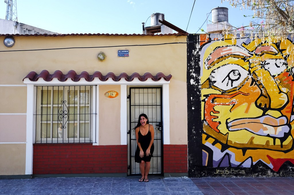 Ines lives in a small of the beautiful city of Salta (North Argentina).