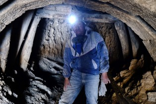"Oscar works as a miner in the ""Cerro Rico"" in Potosi."