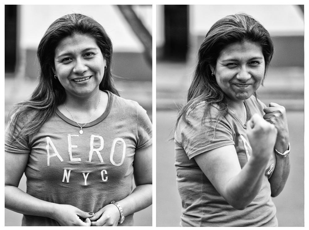 Peru pour portrait