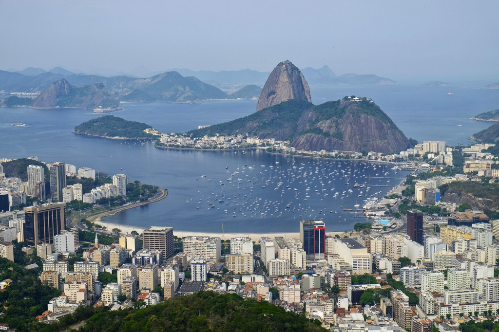 Leandro's favorite spot in RIo is this amazing view over the whole city and the sugar loaf.