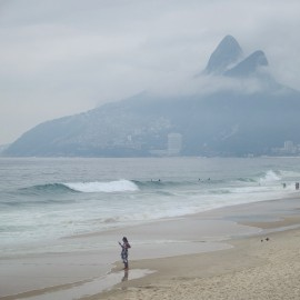 Day 106 – Brazil – Rio de Janeiro – Take a walk on the world famous Copacabana beach and wonder at the Sugar Loaf.