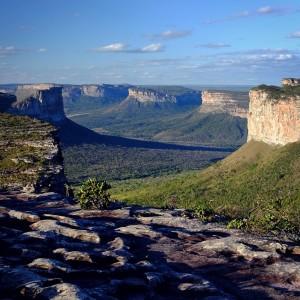 "Day 114 – Brazil – Parque Nacional Chapada Diamantina – Admire and wait for sunset at ""Morro do Pai Inacio""."