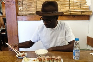 Maceo loves sushi... When he wants to get some he usually heads to the Japanese district of LA.