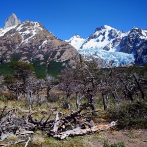Day 138 – Argentina – El Chalten – El Chalten is known as the capital of trekking in Argentina. The Fitz Roy trek is just amazing and you will get to see views over beautiful glaciers.