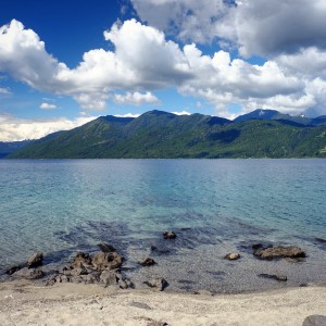 "Day 150 – Chile – Pucon – Pucon is the rival of Bariloche on the Chilian side… And it's hard to make a choice! Here is the gorgrous beach ""Playa Blanca"""