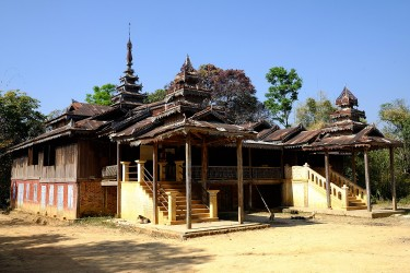 Win's favorite spot is the temple located in her small village, about 15km from Kalaw.