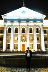 Jibiek works as a lawyer for the City Hall of Bishkek, capital of Kyrgyzstan