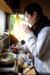 Yohei enjoys cooking and also works as a cook from time to time.