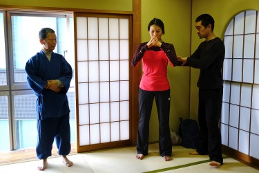 Yohei is assistant teacher of a Japanese martial art called Buido.