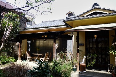 Yohei's favorite spot is this art center located very close to his place.