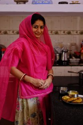 Prerana in her kitchen at home.